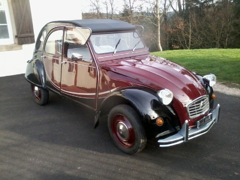 2cv charleston a restaurer